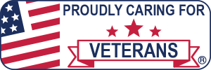 Proudly Caring for Veterans Web Badge 600x200